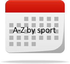 Calendar A-Z by sport logo